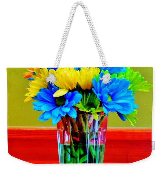 Beauty In A Vase Weekender Tote Bag