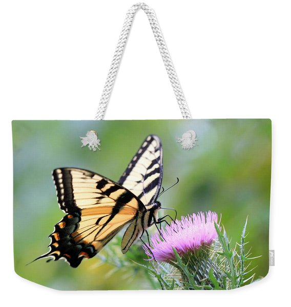 Beauty On Wings Weekender Tote Bag