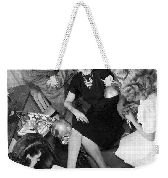 Beauty Salon Glamorizing Weekender Tote Bag