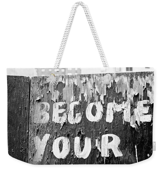 Become Your Dream Weekender Tote Bag