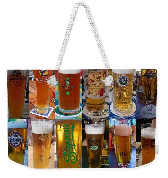 Beers Of Europe Weekender Tote Bag