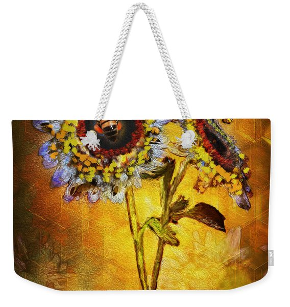 Bees To Honey Weekender Tote Bag