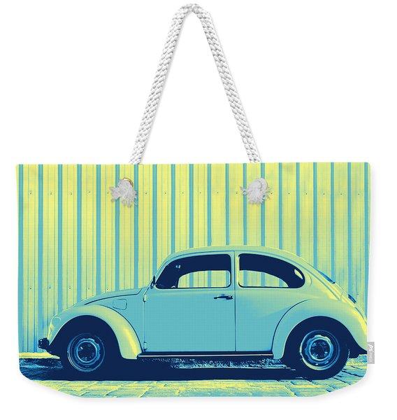 Beetle Pop Sky Weekender Tote Bag