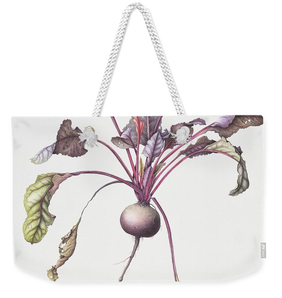 Beetroot Weekender Tote Bag