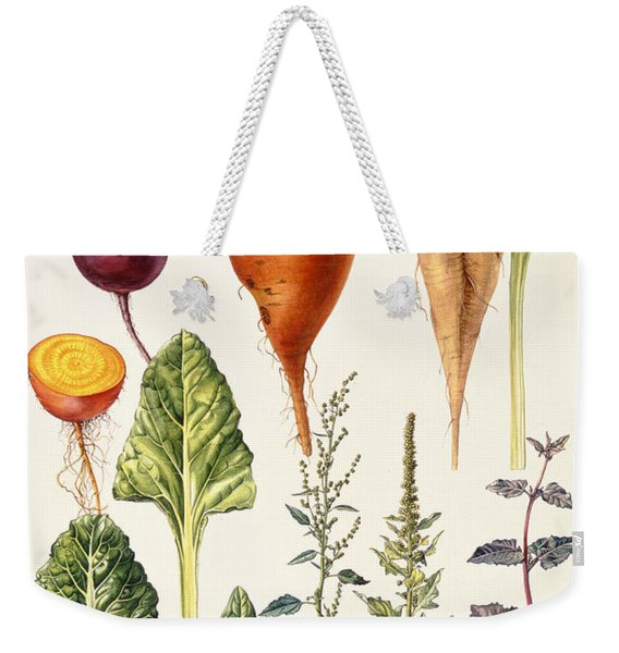 Beetroot And Other Vegetables Wc Weekender Tote Bag