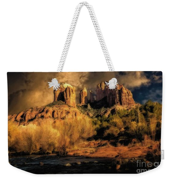 Before The Rains Came Weekender Tote Bag