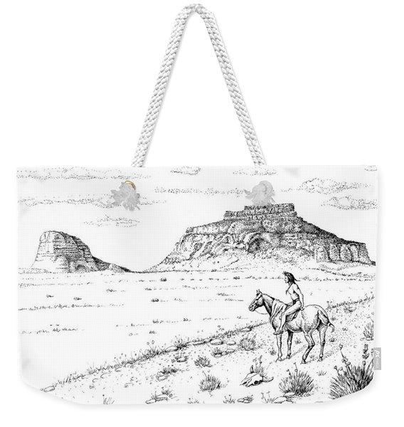 Open Prairie Overlook Weekender Tote Bag