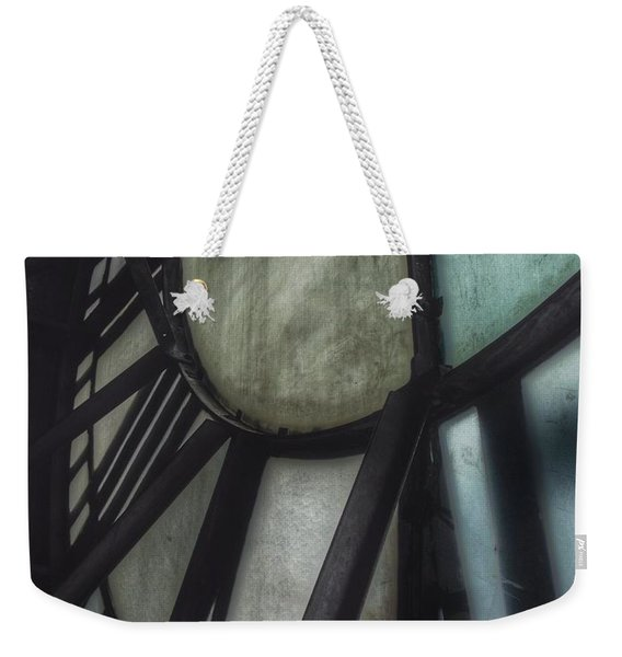 Behind The Clock - Emerson Bromo-seltzer Tower Weekender Tote Bag