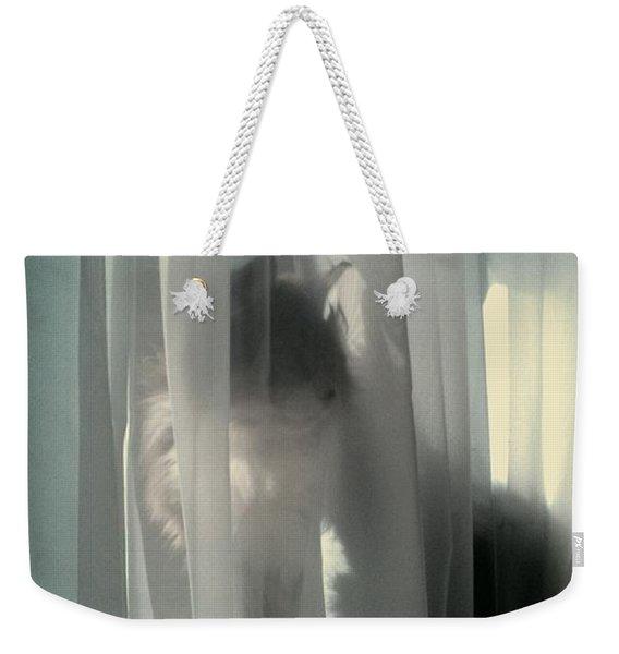 Behind The Curtain Weekender Tote Bag