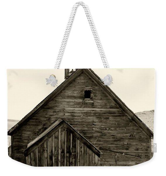 Behind The Steeple By Diana Sainz Weekender Tote Bag