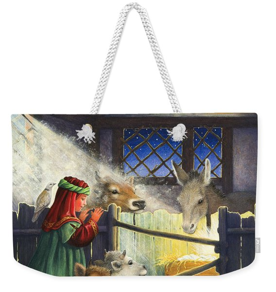 Behold The Child Weekender Tote Bag