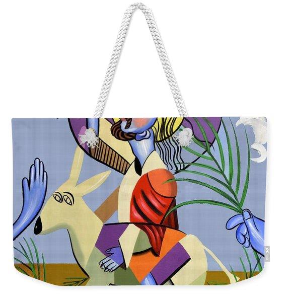 Behold The Lamb Of God Weekender Tote Bag