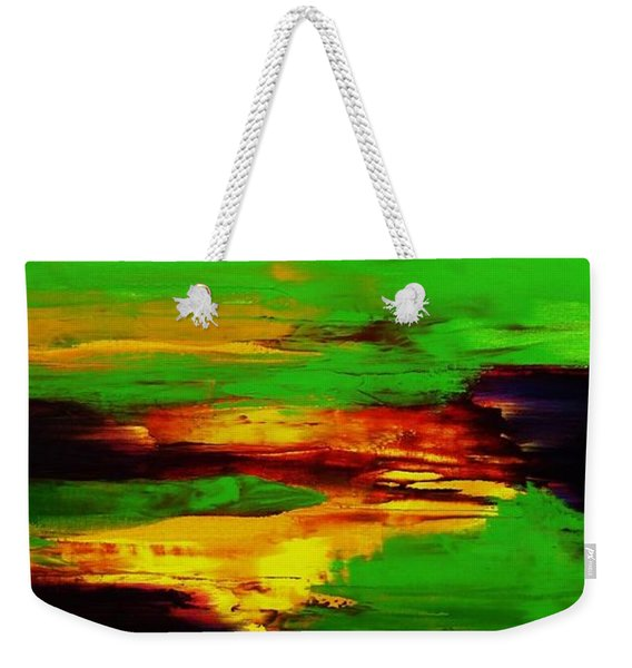 Being And Becoming Weekender Tote Bag