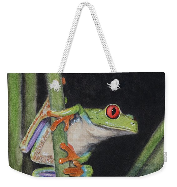 Being Green Weekender Tote Bag