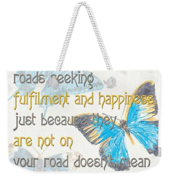 Bella Butterflies 2 Weekender Tote Bag