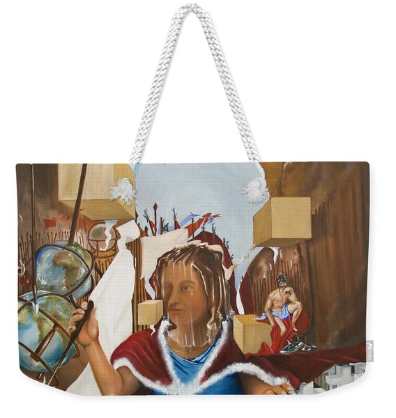 Bellona Goddess Of War Sister Of Mars Weekender Tote Bag