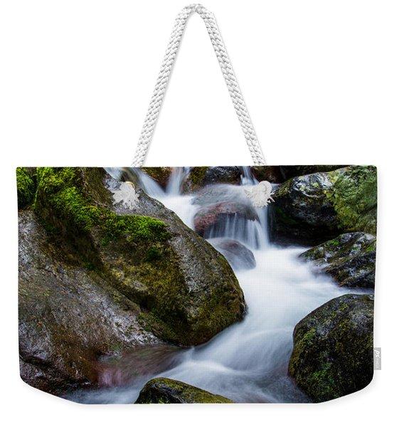 Below Rainier Weekender Tote Bag