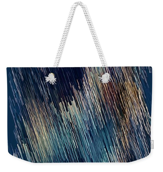 Below Zero Weekender Tote Bag