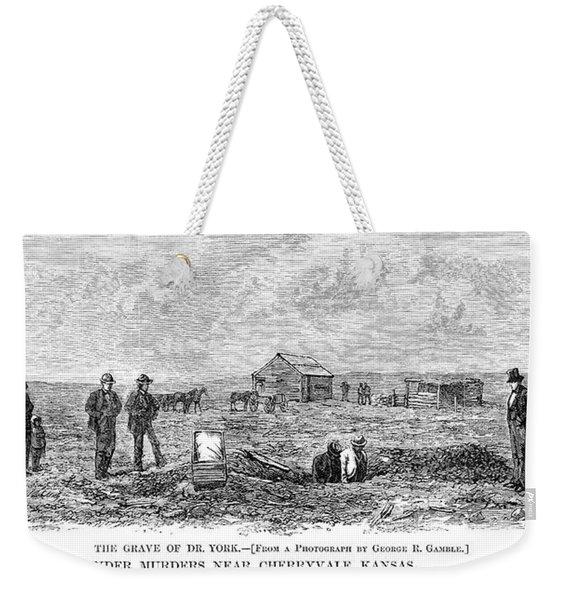 Bender Murders, 1873 Weekender Tote Bag