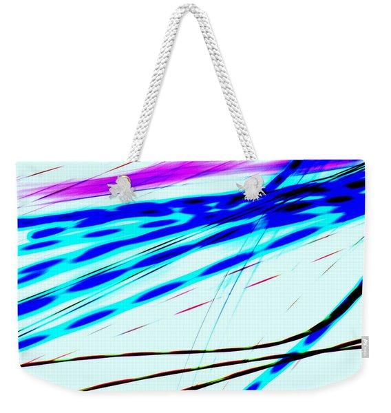 Bending Light Weekender Tote Bag