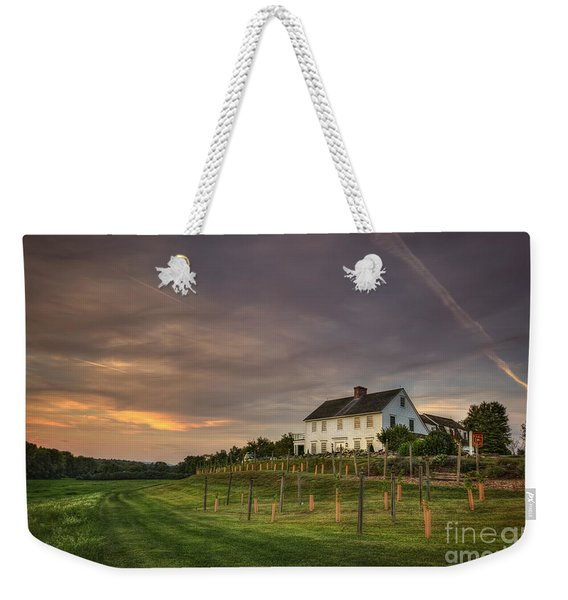 Beneath An Evening Sky Weekender Tote Bag