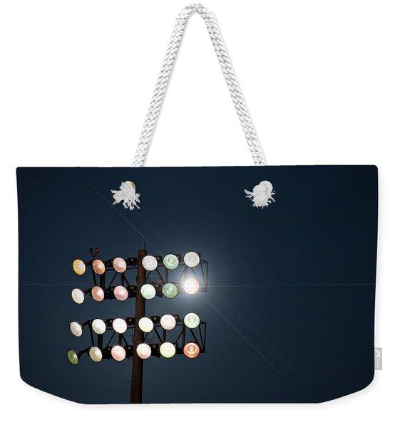 Beneath Friday Night Lights Weekender Tote Bag
