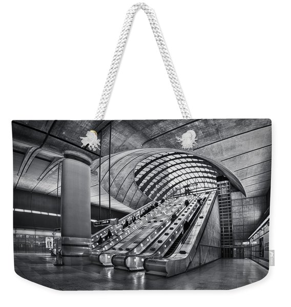Beneath The Surface Of Reality Weekender Tote Bag