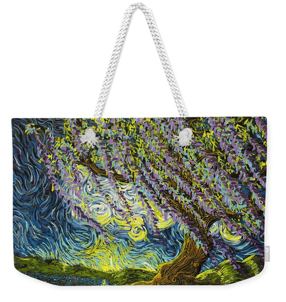 Beneath The Willow Weekender Tote Bag