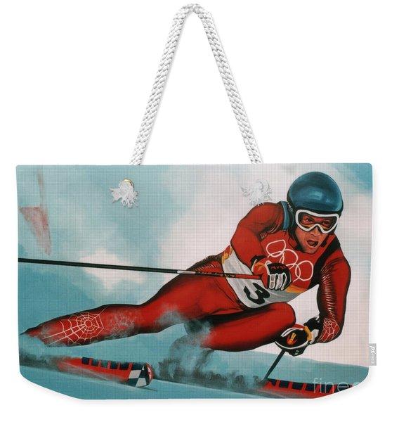 Benjamin Raich Weekender Tote Bag