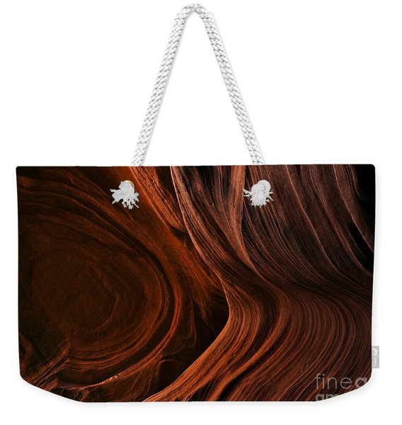 Bent By The Elements Weekender Tote Bag