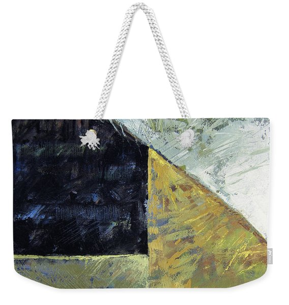 Bent On Abstraction Weekender Tote Bag