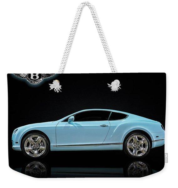 Bentley Blues Weekender Tote Bag