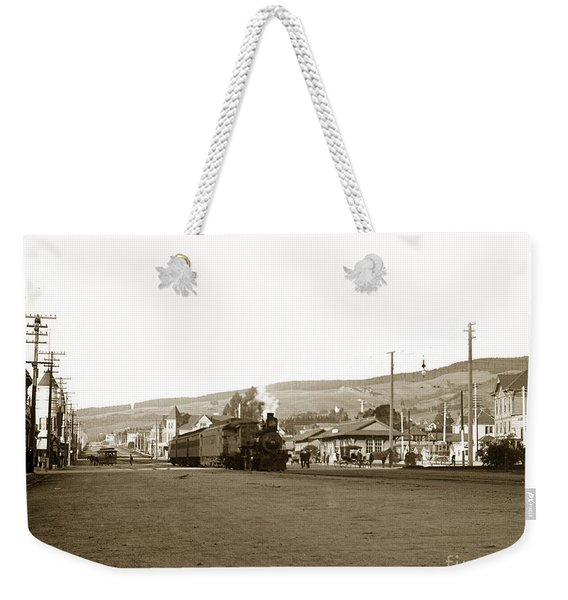 Berkeley California Train Station Circa 1902 Weekender Tote Bag