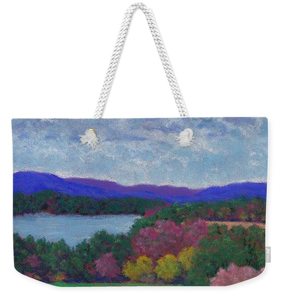 Berkshires In Late October Weekender Tote Bag