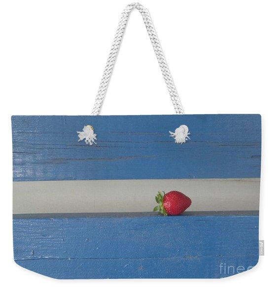 Berry Blues Weekender Tote Bag