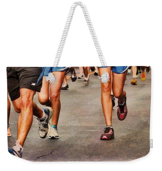 Best Foot Forward Weekender Tote Bag