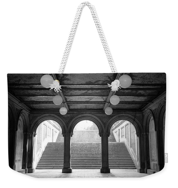 Bethesda Passage Central Park Weekender Tote Bag
