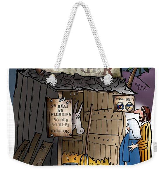 Bethlehem Manger Weekender Tote Bag