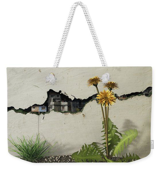 Between The Cracks Weekender Tote Bag