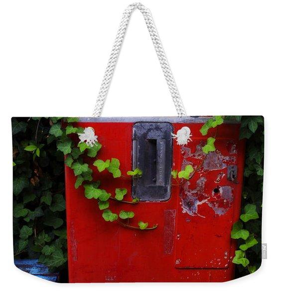 Austin Texas - Coca Cola Vending Machine - Luther Fine Art Weekender Tote Bag
