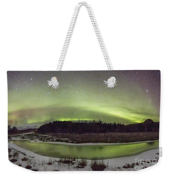 Beyond The Cosmic Horizon Weekender Tote Bag