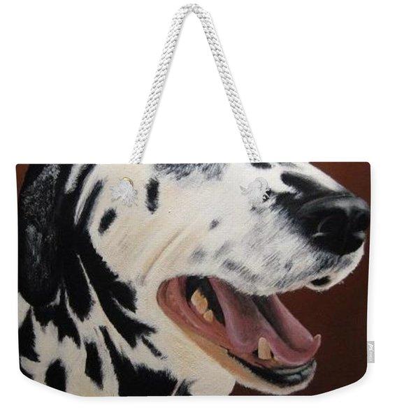 Bianca Rob's Dalmatian Weekender Tote Bag
