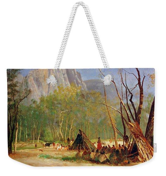 Bierstadt Council, C1872 Weekender Tote Bag
