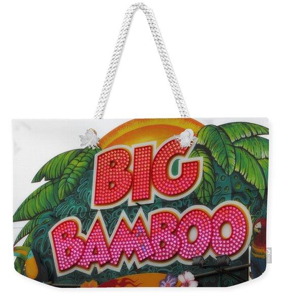 Big Bamboo Weekender Tote Bag