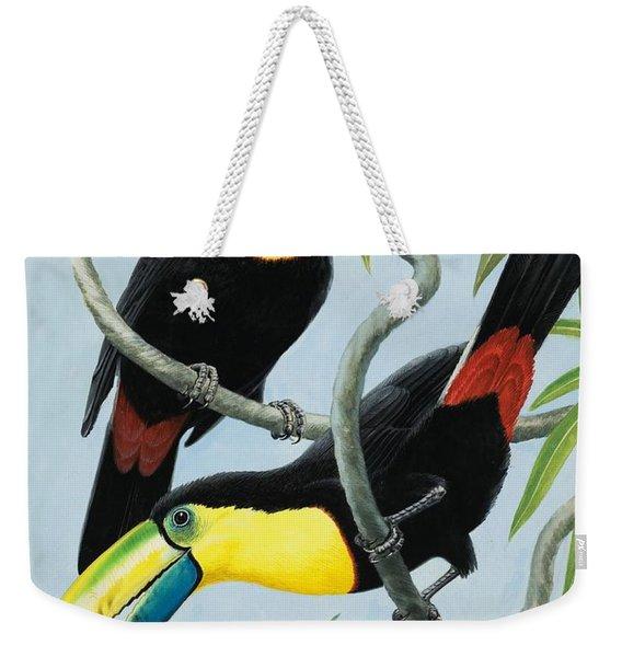 Big-beaked Birds Weekender Tote Bag