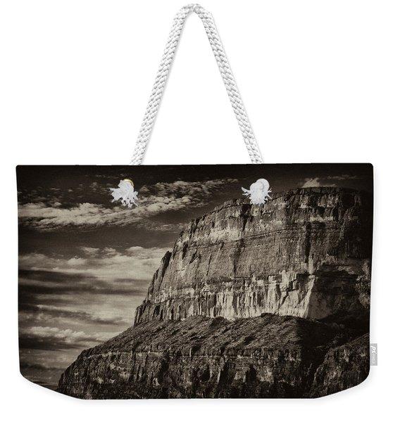 Big Bend Cliffs Weekender Tote Bag