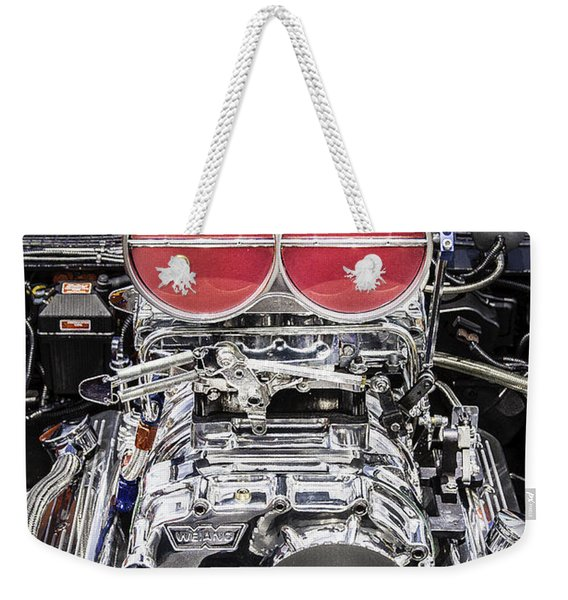 Big Big Block V8 Motor Weekender Tote Bag