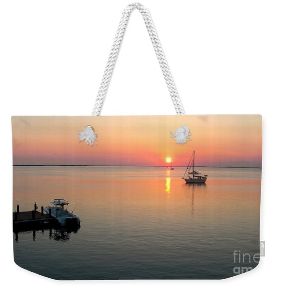 Big Chill Sunset Weekender Tote Bag