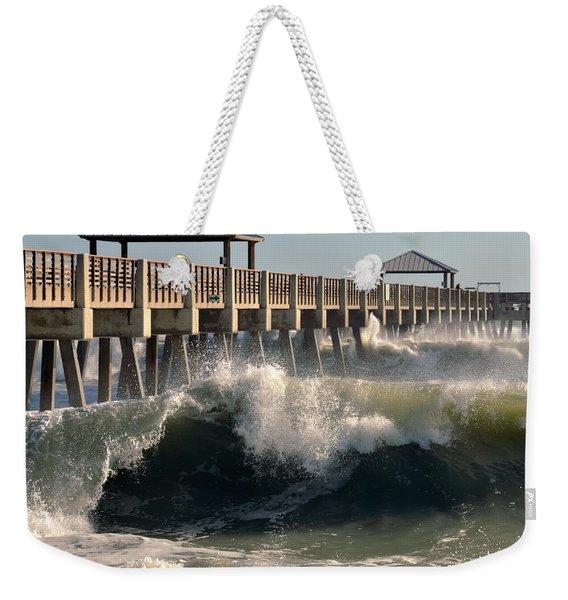 Big Curl Weekender Tote Bag