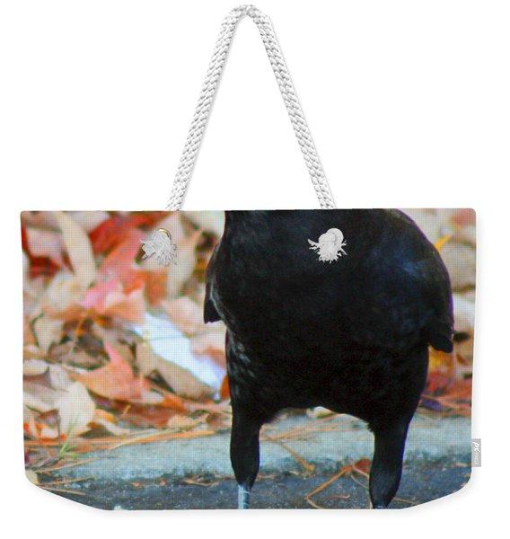 Big Daddy Crow Leaf Picker Weekender Tote Bag